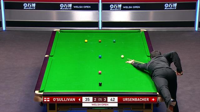 O'Sullivan misses crucial yellow as he crashes out in Cardiff