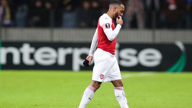 Lacazette free to face Rennes as UEFA cuts ban