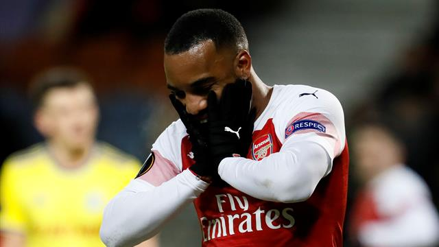 Lacazette banned for Rennes matches