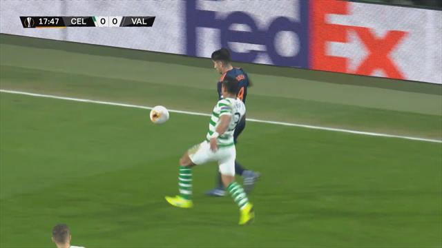 Europa league - Höjdpunkter : Celtic - Valencia