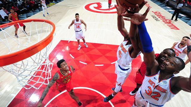 Faille dans l'opération tanking et fin de série de 18 défaites pour Knicks