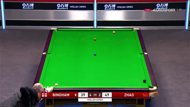 'We have our first semi finalist at the Welsh Open!' - Bingham makes the last four