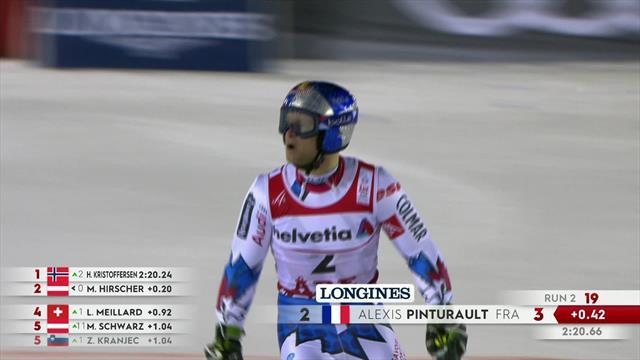En route vers le titre, Pinturault a fini par coincer...