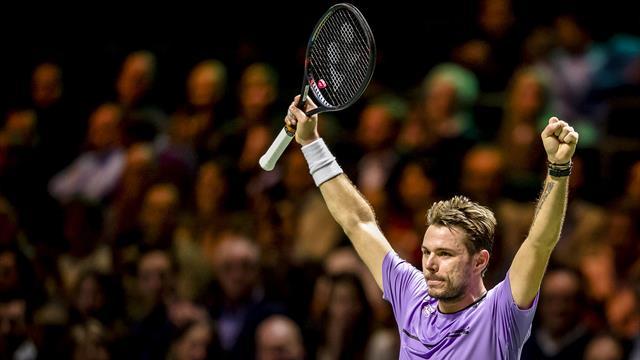 Вавринка в двух сетах разбил Шаповалова и вышел на Нисикори в полуфинале Роттердама