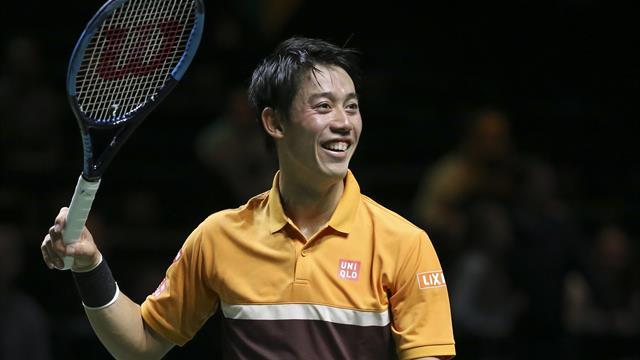 Tranquillement, Kei Nishikori a rejoint Wawrinka en demi-finale : son match en vidéo