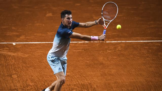 Top seed Thiem knocked out by home favorite Schwartzman