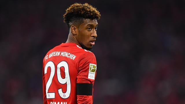 Coman fit for Bayern Champions League clash against Liverpool