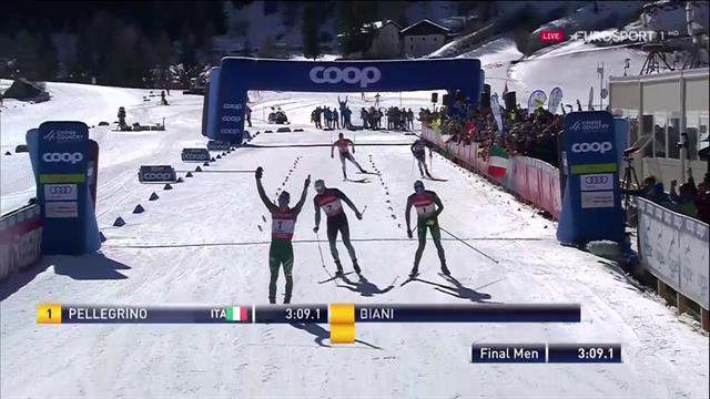Doppietta Pellegrino-De Fabiani nella sprint di Cogne: trionfo Italia davanti al pubblico di casa