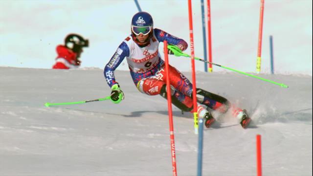 Petra Vhlova, che rimonta! Da quinta a medaglia di bronzo nello slalom di Are