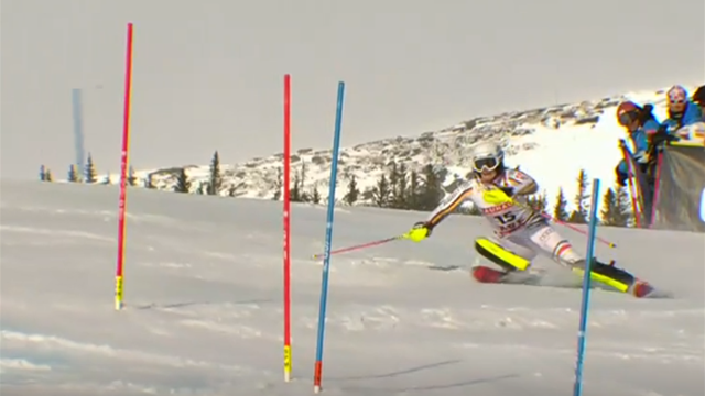 """""""Das Ziel vor Augen!"""" Geiger scheidet im Slalom am Zielhang aus"""