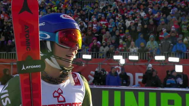 Shiffrin crowned world slalom champion for fourth time
