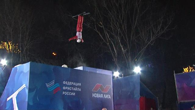 Ramanouskaya triumphs in women's aerials in Moscow