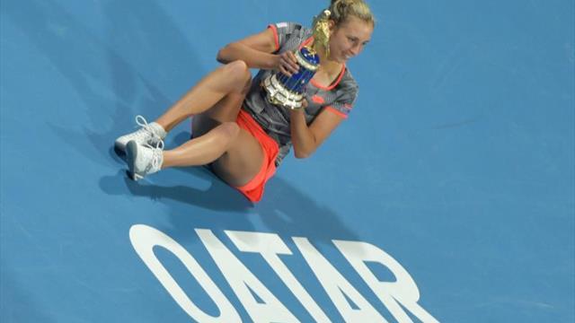 WTA Doha, Halep-Mertens: Remontada para culminar una semana de ensueño (6-3, 4-6 y 3-6)