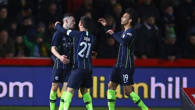 Manchester City crush Welsh minnows Newport's FA Cup dream