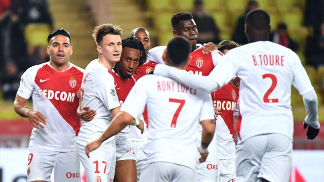 Monaco out of relegation zone after win over Nantes
