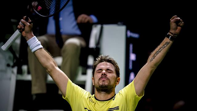 ATP Rotterdam: Wawrinka vuelve a una final tras la de Roland Garros 2017 ante Nadal