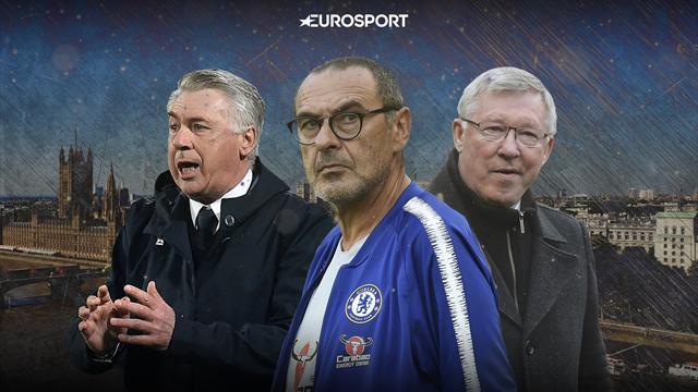 «МЮ» может лишить Сарри работы. Итальянца уже увольняли из «Челси» из-за «Манчестера»