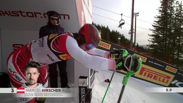 'Breathtaking!' - Hirscher goes 1.7secs ahead of field in Slalom