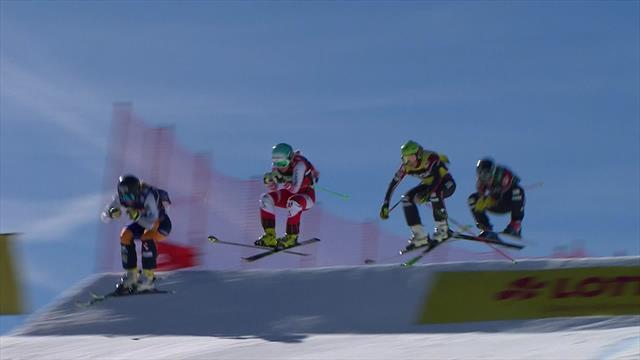 INCREDIBLE finish in Ladies' Ski cross at Feldberg