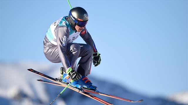 Chapuis tops podium at ski cross World Cup