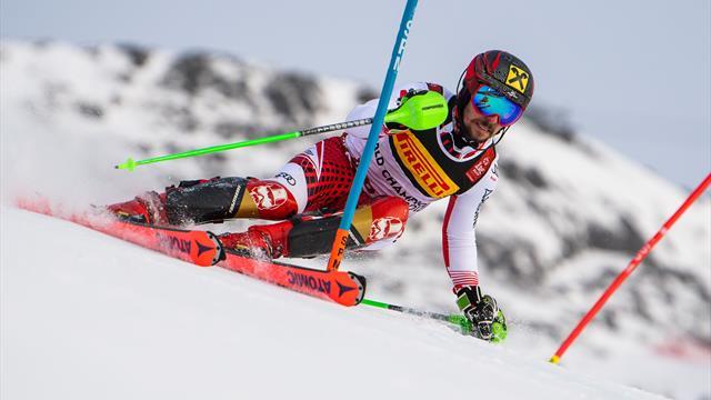 Mit Video | Hirscher holt Gold im Slalom und knackt Sailer-Rekord