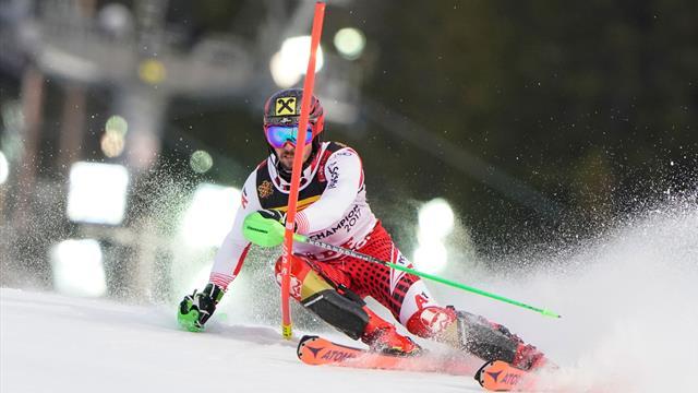 Beeindruckende Leistung! So holt sich Hirscher den Slalom-Titel