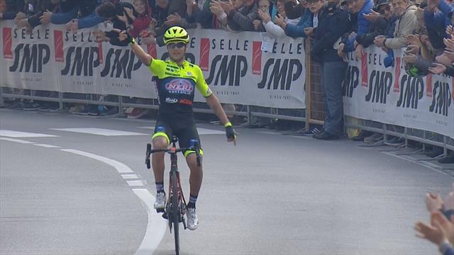 Trofeo Laigueglia 2019: Victoria en solitario para el italiano Simone Velasco
