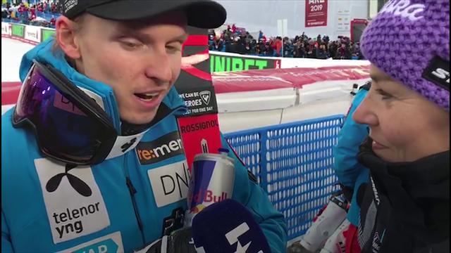 """Kristoffersen: """"Hirscher è il migliore in slalom: io devo ancora allenarmi e migliorare"""""""