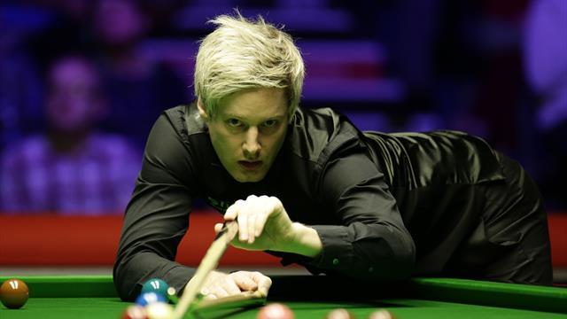 Robertson leads battling Bingham in Welsh Open final
