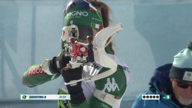 Biathlon | Italië wint Single Mixed Relay met halve minuut voorsprong