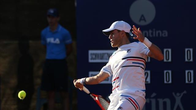 Schwartzman se clasificó a la final del ATP de Buenos Aires