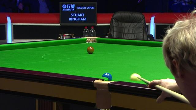Bingham cuts the arrears after costly Robertson mistake