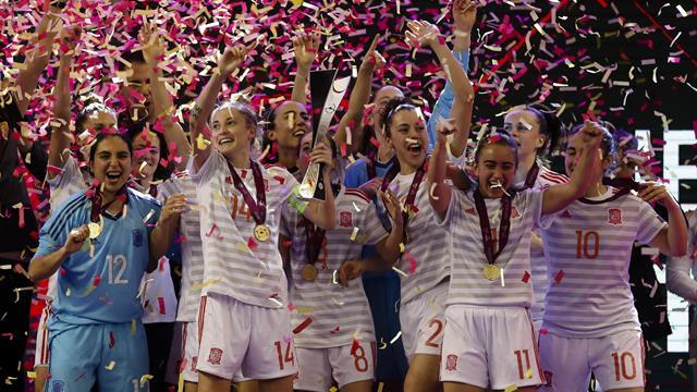 Eurocopa femenina Fútbol Sala, España-Portugal: Campeonas para la historia (4-0)