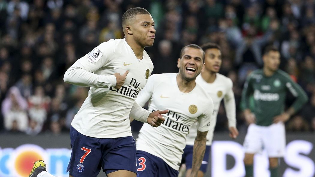Football News Mbappe Helps Psg To Beat St Etienne And Extend Lead