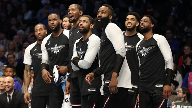 Une pluie de trois points, Durant et l'équipe de LeBron sacrés: un All-Star Game dans l'air du temps