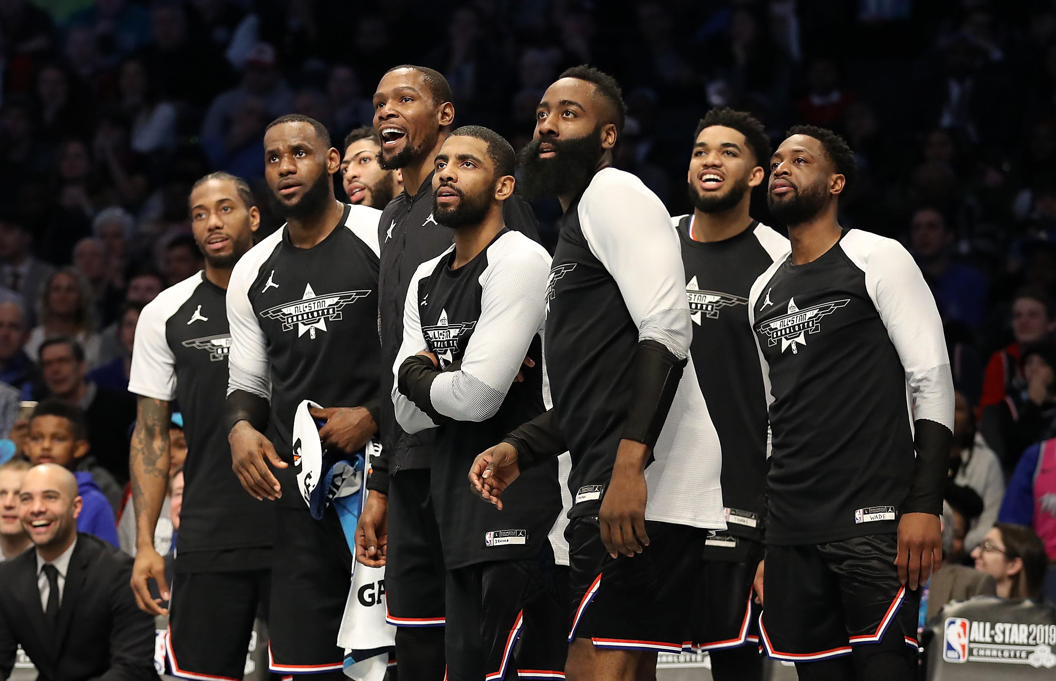 La Team LeBron James au All Star Game 2019
