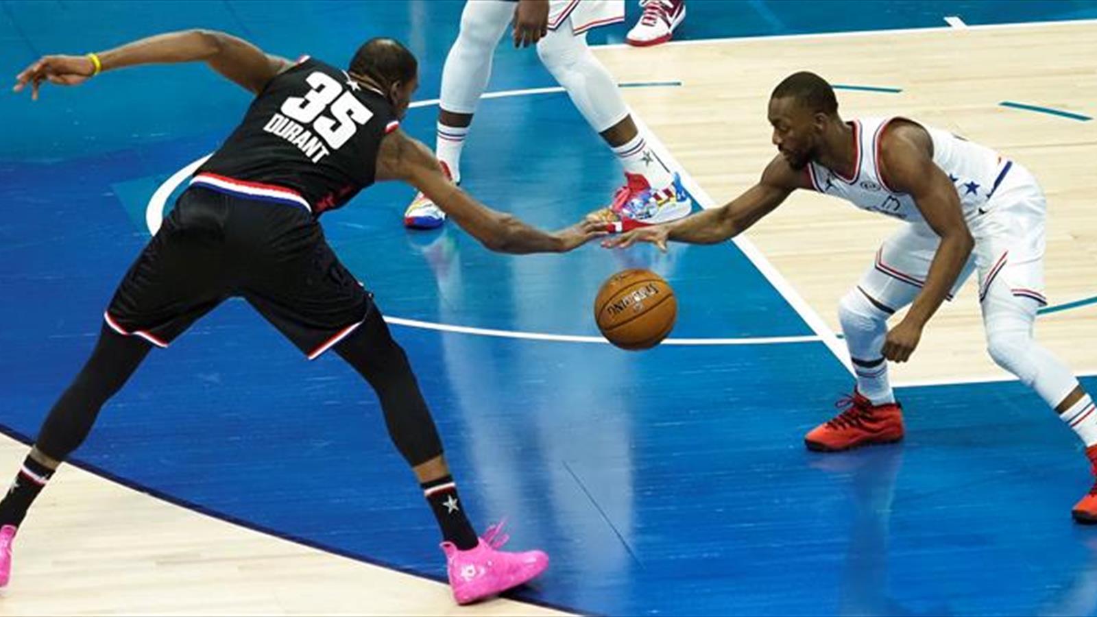 9097edfeb30cb All Star  Remontada del equipo de LeBron ante el de Antetokounmpo con un  Durant MVP (178-164)
