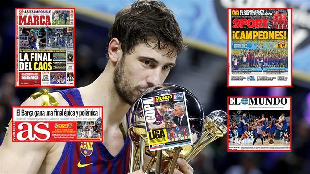 Copa del Rey, las portadas de la final Madrid-Barça: 'Caos', 'Épica' o 'Polémica'