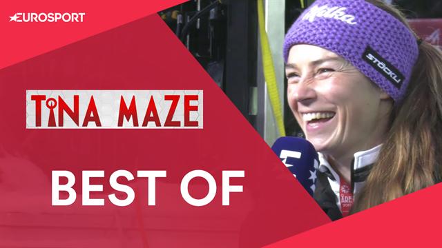 Risate, abbracci, interviste: tutto il meglio di Tina Maze ad Are 2019