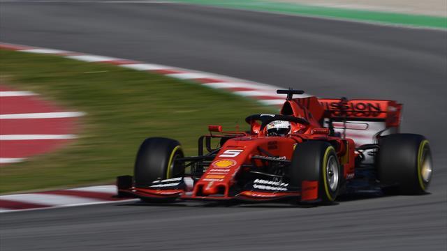 Vettel et Ferrari terminent les essais en fanfare