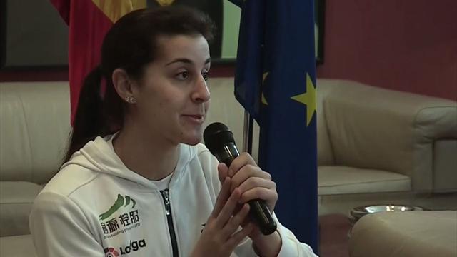 """Carolina Marín: """"Cuando me dijeron que el cruzado estaba roto me rompí yo"""""""