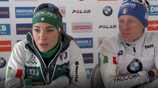 """Dorothea Wierer e Lukas Hofer in coro: """"Questa vittoria ci dà grande fiducia per il Mondiale"""""""