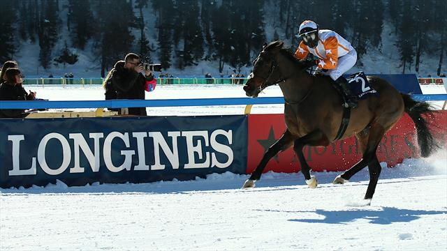 Berrahri impérial dans le Longines Grand Prix de Saint-Moritz