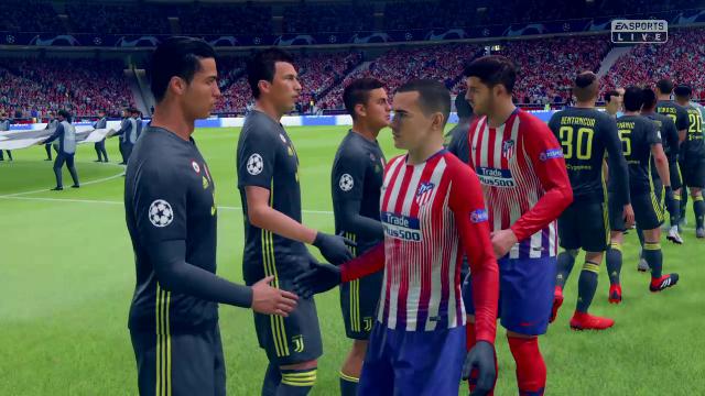 Champions Virtual: Así ha quedado el Atleti-Juve