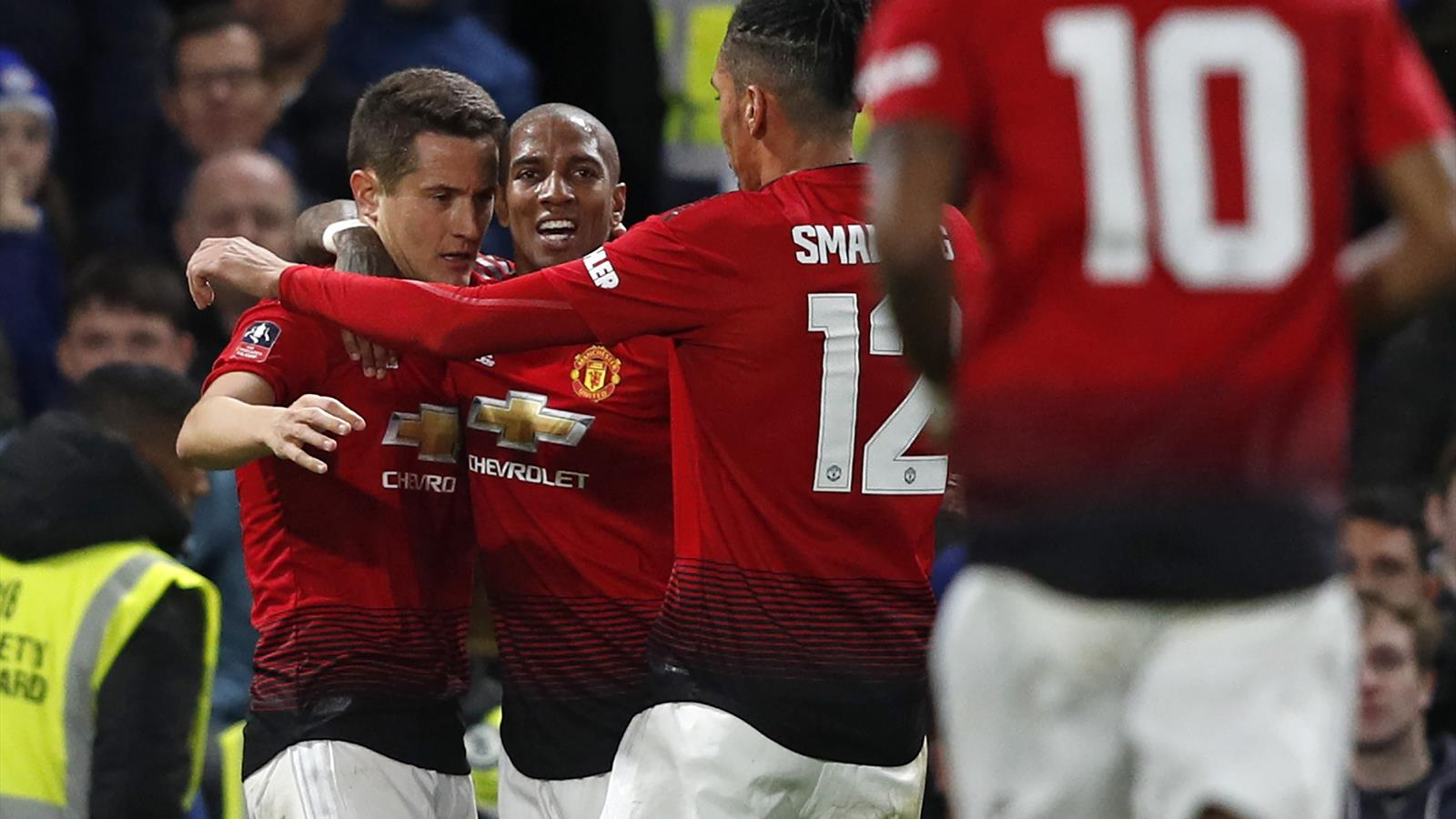 54975421 Chelsea - Manchester United - The Emirates FA Cup - 18 février 2019 -  Eurosport