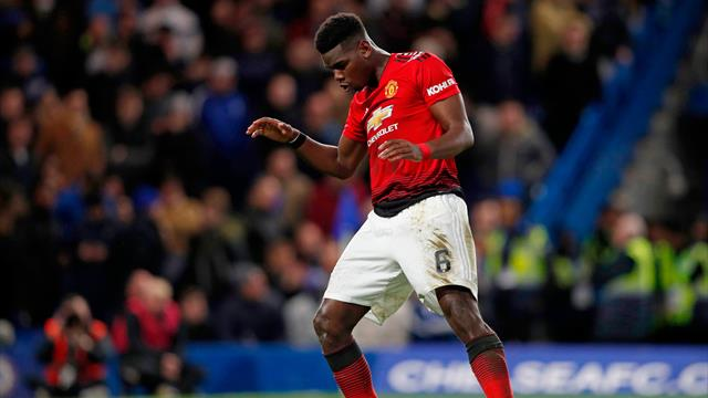 Pogba dazzles as United shrug off Chelsea