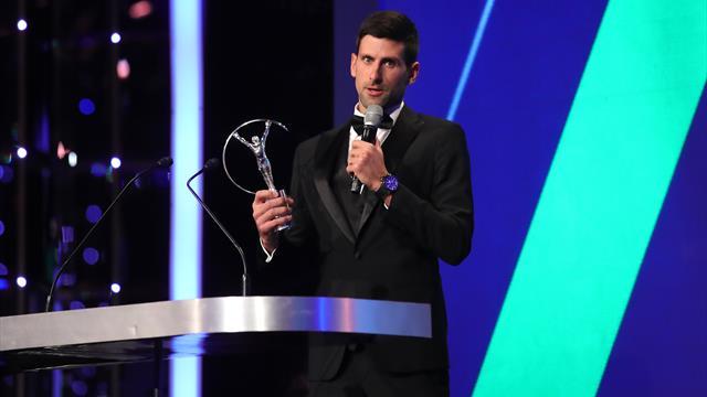 Djokovic et Osaka récompensés aux Laureus World Sports Awards