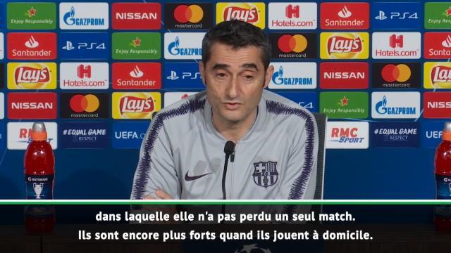 """""""Un match compliqué"""" : Valverde craint l'OL, """"une grande équipe"""""""