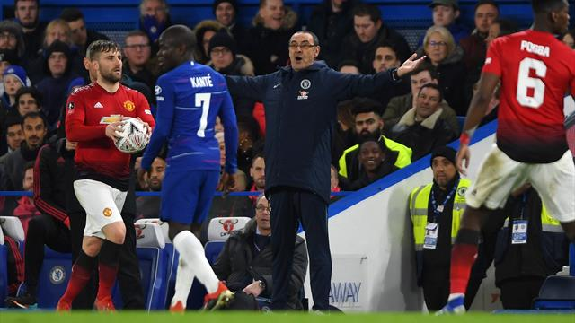 Under-fire Chelsea boss Sarri bemoans lack of 'aggression' in United defeat
