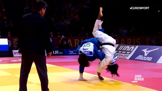 Saki lässt Gahié fliegen: Die Top5-Szenen des Paris Grand Slam